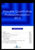Enquête quantitative professionnalisation 2012 - application/pdf