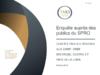 Enquête auprès des publics du SPRO. Rapport. Restitution - application/pdf