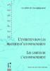 Les cahiers de l'accompagnement : l'entretien dans les pratiques d'accompagnement, les limites de l'accompagnement - application/pdf