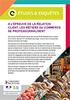 À l'épreuve de la relation client, les métiers du commerce se professionnalisent. Essentiel - application/pdf