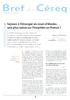 Séjours à l'étranger en cours d'études, une plus-value sur l'insertion en France ? - application/pdf