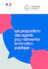 Réinventer la fonction publique passe par la formation - application/pdf