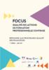 Focus qualité des actions de formation professionnelle continue. Répondre aux procédures qualité des financeurs - application/pdf