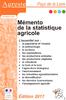 Mémento de la statistique agricole - application/pdf