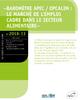 Baromètre Apec/Opcalim : le marché de l'emploi cadre dans le secteur alimentaire - application/pdf
