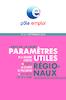 Paramètres utiles régionaux. Pays de la Loire. Septembre 2018 - application/pdf