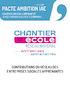 """IAE : Chantier école propose d'expérimenter """"l'entreprise sociale apprenante""""et de moderniser la communication - application/pdf"""