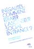 Inégalités : comment réparer l'ascenseur social en France ? - application/pdf