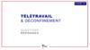 Covid-19. Questions-réponses : télétravail et déconfinement - application/pdf