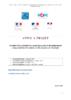 Plateforme des métiers et d'orientation pour le tourisme : appel à projet - application/pdf