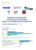 Enquête exceptionnelle. Conjoncture économique : impact de l'épidémie de Coronavirus - application/pdf