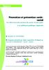 Promotion et prévention santé-social. Les déterminants sociaux de santé, leviers pour une politique publique régionale  - application/data