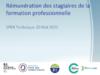 Rémunération des stagiaires de la formation professionnelle. Sper technique 20 mai 2021 - application/pdf