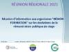 """Réunion d'information aux organismes """"Région formation"""" sur les évolutions de la rémunération publique de stage (diaporama) - application/pdf"""